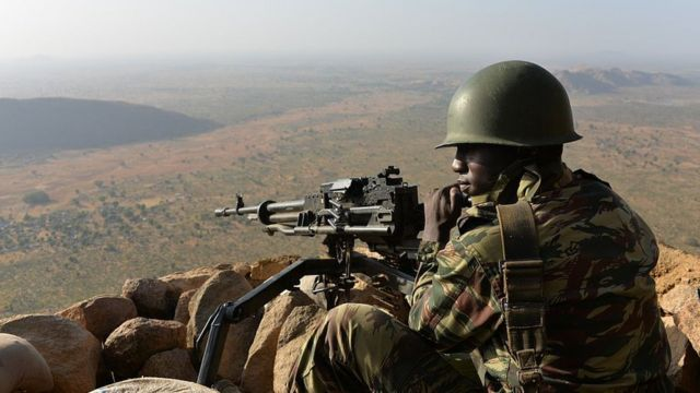 Cameroon solider