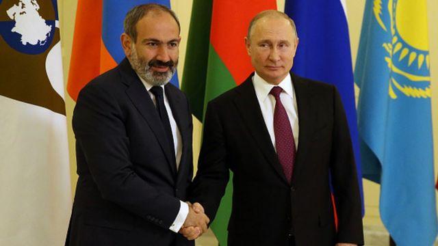 Paşinyan ve Putin