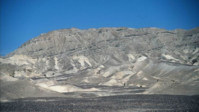 A landscape in the Sinai Peninsula similar to that of Jezero Island.
