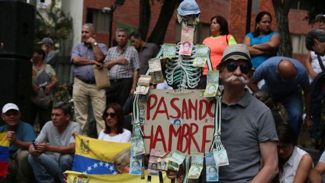 акция в Каракасе