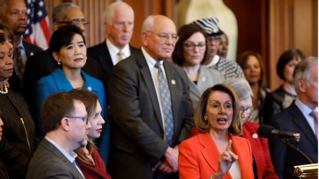 Representantes del Partido Demócrata en el Congreso