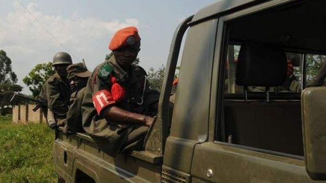 Des soldats congolais en opération dans l'est de la RDC