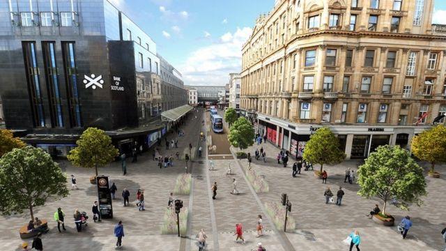 'River park' proposed for Glasgow city centre
