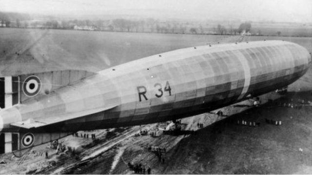 Norfolk village celebrates first transatlantic flight, 100 years on