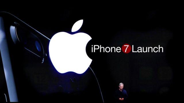 আইফোন ৭ এর ঘোষণা দেয়ার ছবি