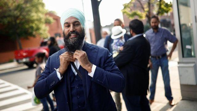 جاغميت سينغ زعيم الحزب الديمقراطي الجديد في كندا