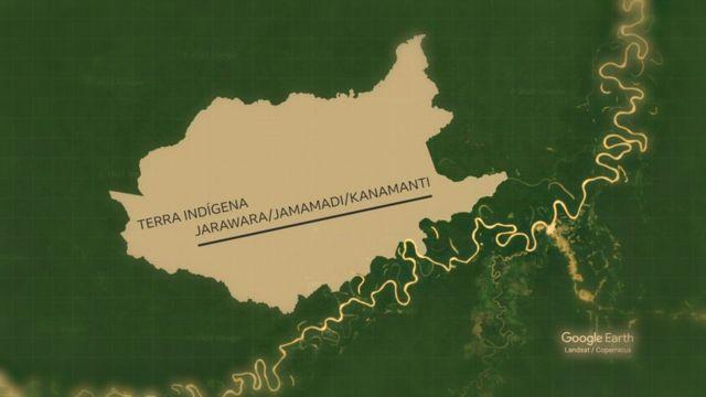 Terra indígena Jarawara/Jamamadi/Kanamanti fica na região dos rios Juruá e Purus, no sul do Amazonas