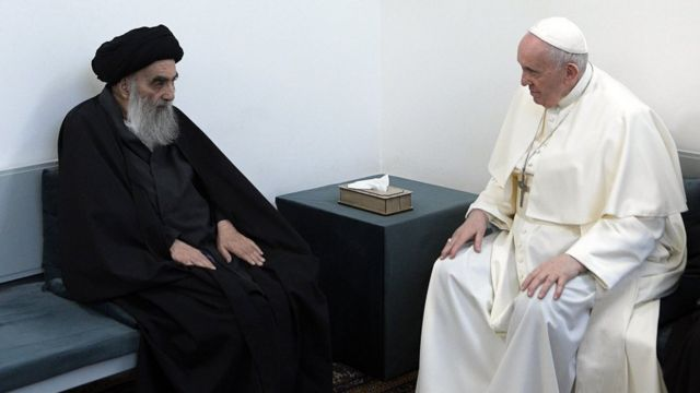 папа и аятолла