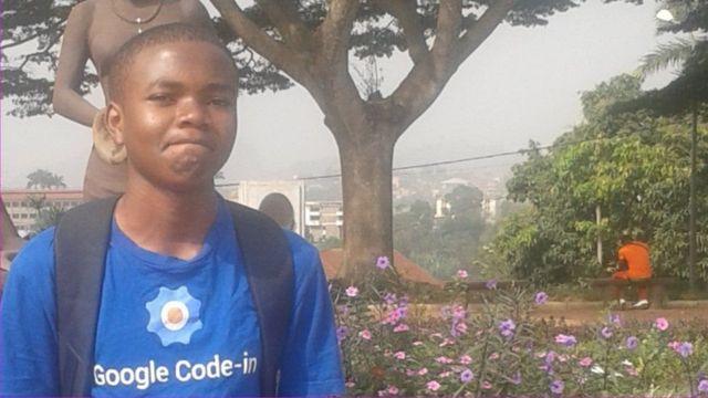 صبي كاميروني يفوز بجائزة غوغل للتشفير يعاني غياب الانترنت في بلدته