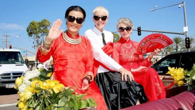 Bà Kiều Chinh tại Hoa Kỳ