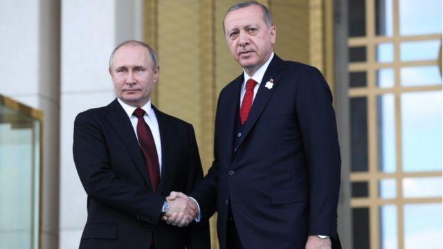 سفر پوتین به ترکیه