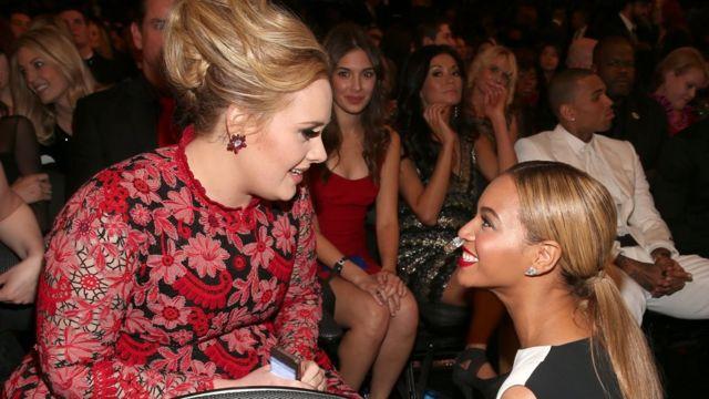 Adele və Beyonce