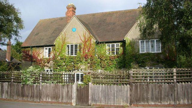 Дом Толкиена в Оксфорде