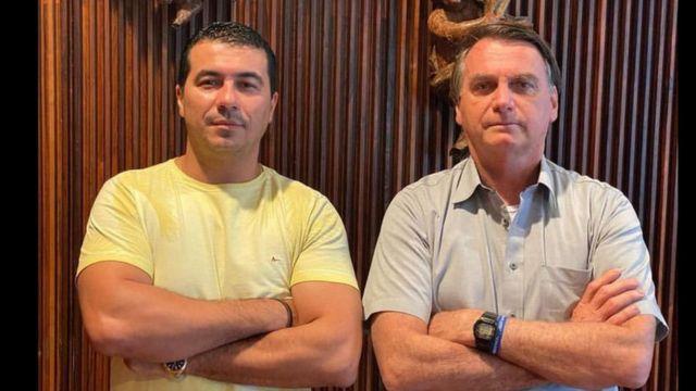 Deputado Luís Miranda e Jair Bolsonaro