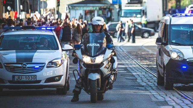 Latvian police (Facebook pic)