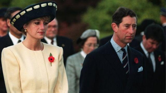 الأميرة ديانا والأمير تشارلز