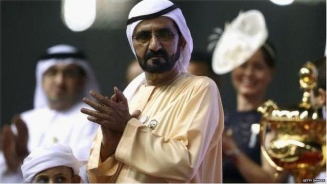 दुबईचे शासक मोहम्मद बिन रशिद अल मकतूम