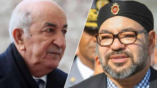 العاهل المغربي والرئيس الجزائري