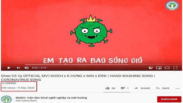 Video 'Ghen Cô Vy' cập nhật lời mới được chuyển thành chế độ không công khai