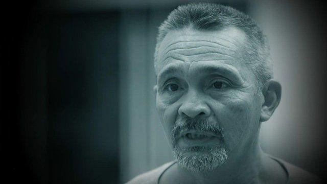 Carlos Grajales, a resident of the Casa del Migrante half-way house