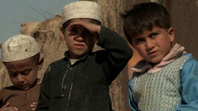 афганские дети