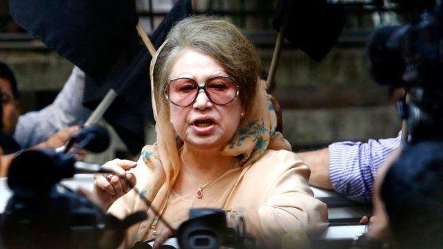 خالده ضیا پیشتر نخست وزیر بنگلادش بود