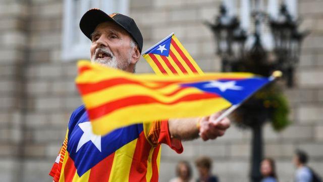 Каталонский активист