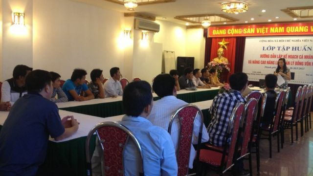 Training in Vinh by AAT
