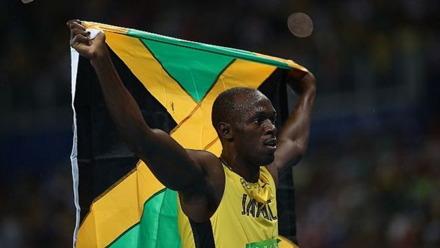 Usain Bolt 200m JO Rio médaille
