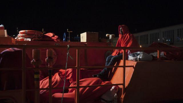 Des migrants sauvés sur les côtes espagnoles…