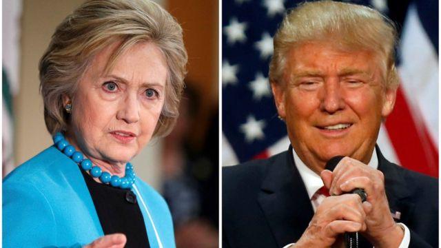 Candidatos à presidência dos EUA