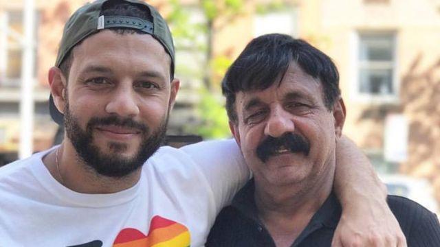 Mathew Shurka y su padre