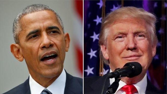 ओबामा और ट्रंप