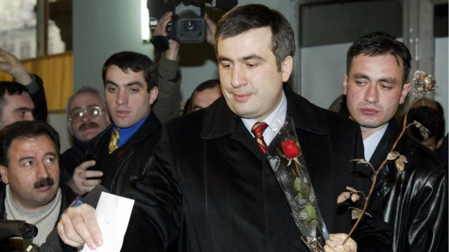 Mijail Saakashvili.