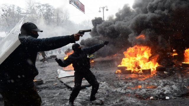 Противостояние в Киеве в январе 2014