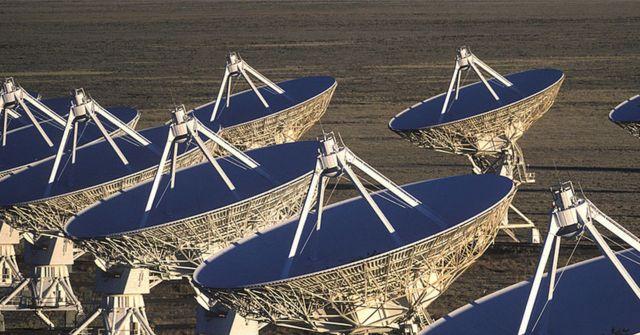 Telescopios terrestres de radio