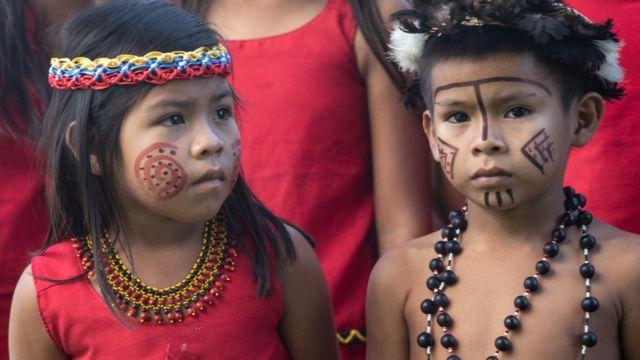 Coro infantil Pemón Kamarakoto