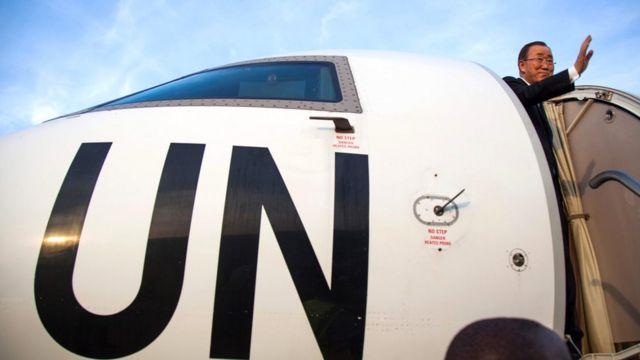 Umunyamabanga mukuru wa ONU, Ban Kim, mu rugendo aherukamwo mu Burundi