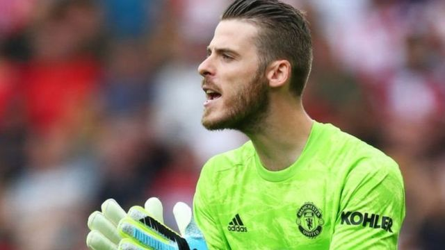 Umunyegori wa Manchester United, David de Gea