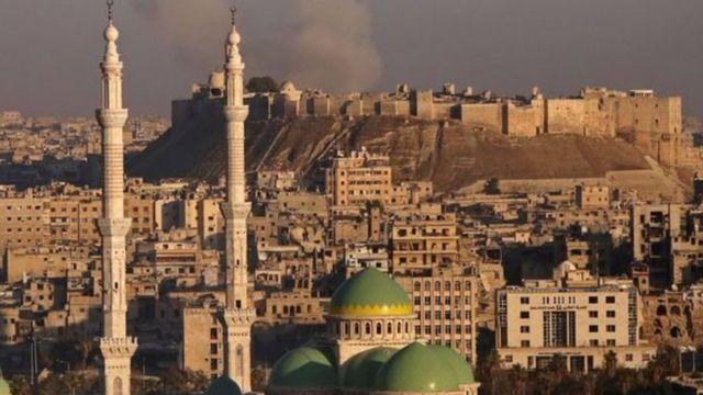 Igisagara ca Alep cari kimaze imyaka ine mu minwe y'abagwanyi
