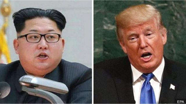 Kim Jong-un và Donald Trump