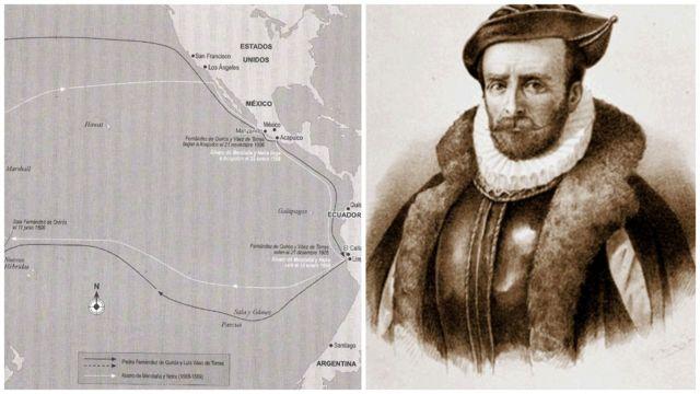 Álvaro de Mendaña y su viaje