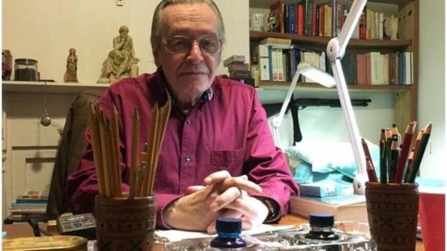 O escritor Olavo de Carvalho
