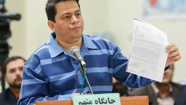 آقای باقری درمنی به تشکیل باند کلاهبرداری و دست زدن به اقدامات مجرمانه متهم شده بود