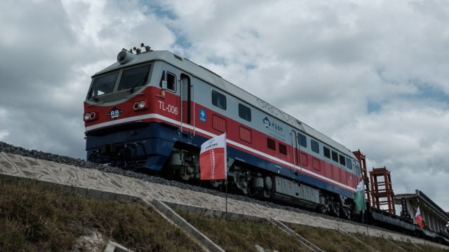 肯尼亚中国资助的铁路项目