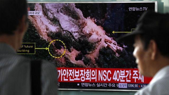 Ciudadanos en Corea del Sur reaccionan a la supuesta reciente prueba nuclear del Norte