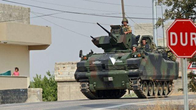 Suriyada kürd qüvvələri