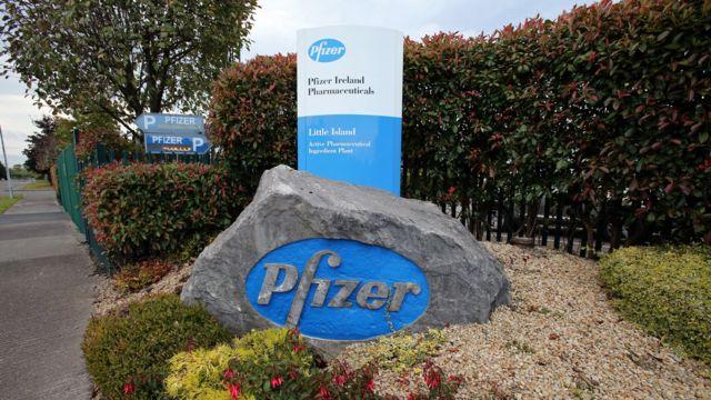 Sede da Pfizer na Irlanda.