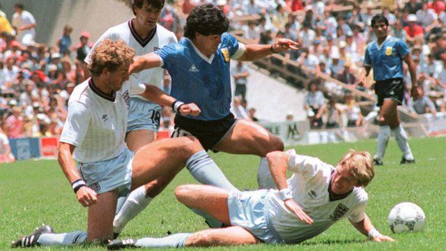 Il gol di Maradona contro l'Inghilterra