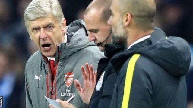 Umumenyereza wa Arsenal, Arsene Wenger avuga ko ibitego bibiri vyinjijwe na City baraririye